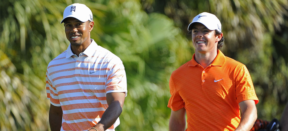 Own the Shirts Off Tiger's and Rory's Backs