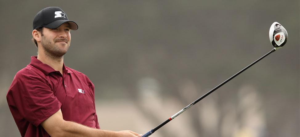 Tony Romo Gives Up Golf for Football, Health
