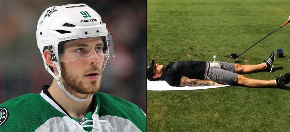 Hockey Star Tyler Seguin Allows Tee Shot Off His Nether Region