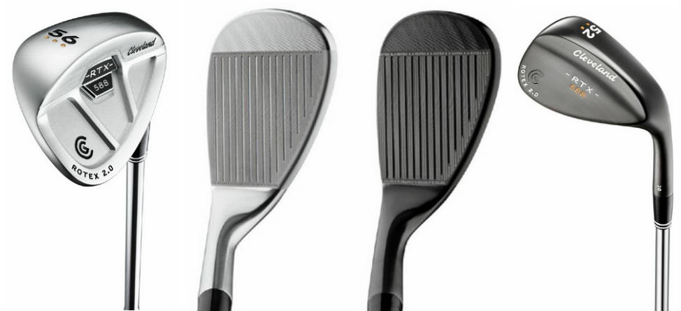 Sneak Peek: Cleveland Golf 588 Rotex 2.0 Wedges