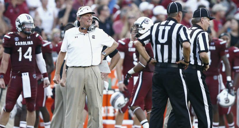 Delay of Game: Steve Spurrier's Wife Interferes With Golf Plans