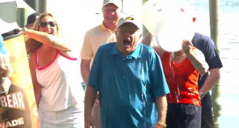 Jack Nicklaus & Employees Take Massive Ice Bucket Challenge