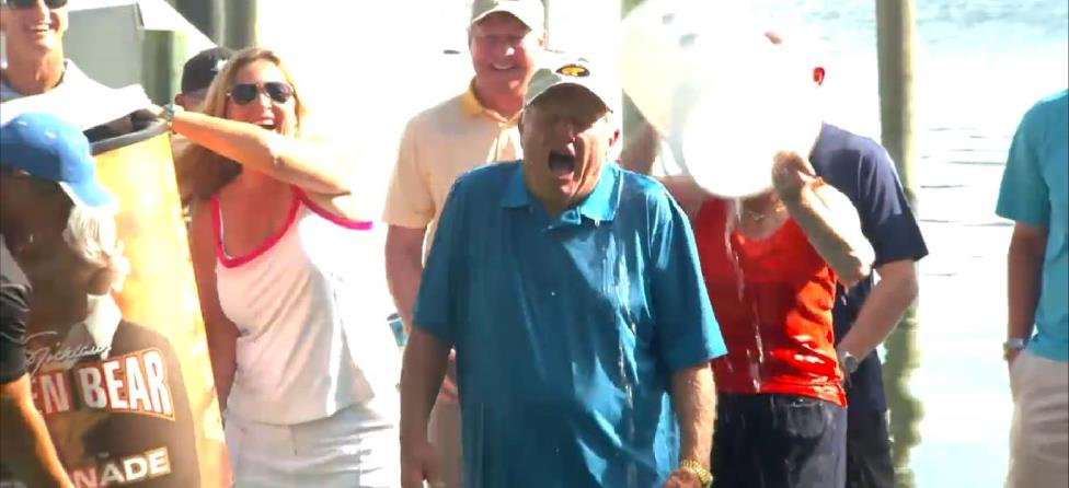 Jack Nicklaus & Employees Take Massive Ice Bucket Challenge