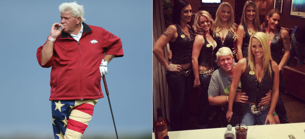Grip It And Sip It: John Daly Promoting Line Of Beverages
