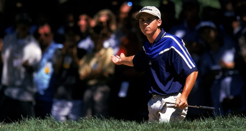 Flashback: Sergio Challenges Tiger at 1999 PGA Championship