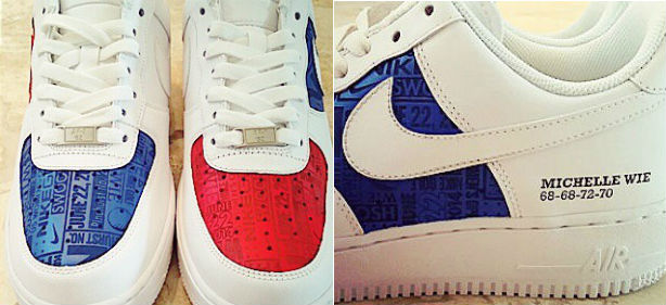 Michelle Wie's New Custom Nikes Are Majorly Sweet