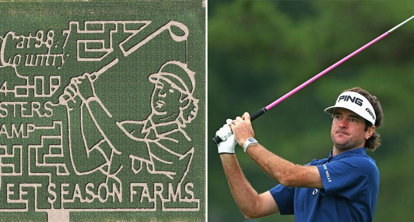 Bubba Watson Heading Home To Take On Bubba Maze