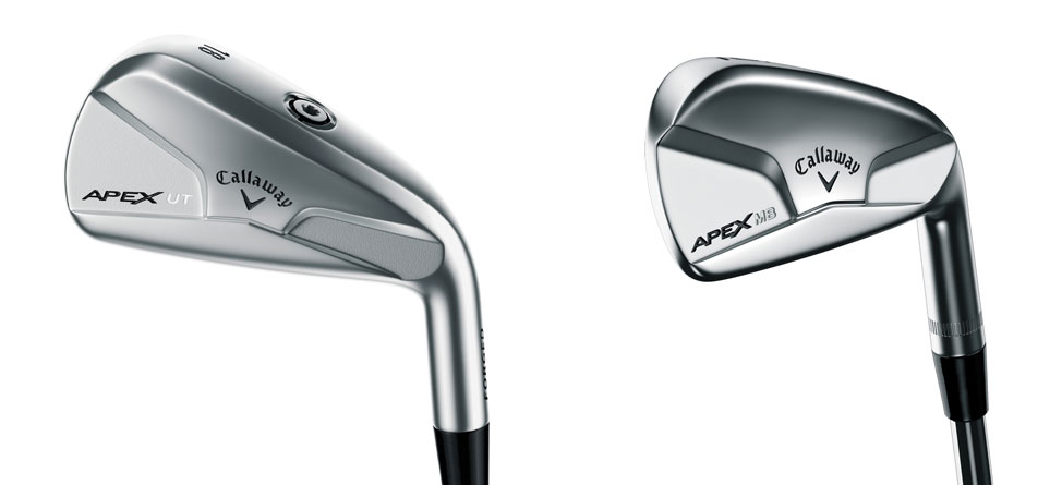 Callaway Apex MB, UT Irons Designed For The Better Player