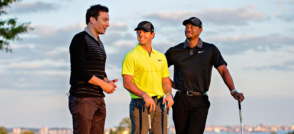 Fallon, McIlroy and Woods Help Launch New Nike Vapor Irons