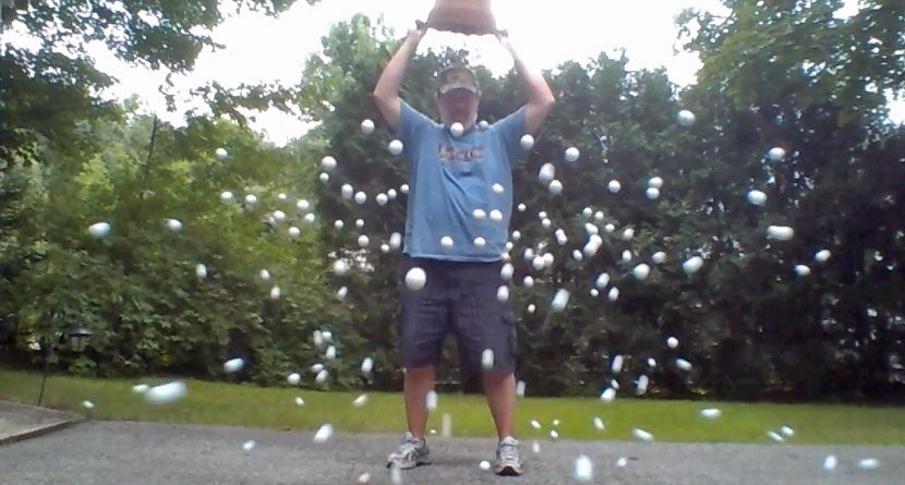 Introducing the Golf Ball Bucket Challenge