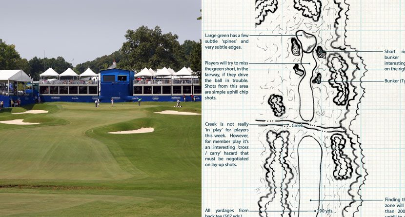 Tournament Hole of the Week: Wyndham Championship