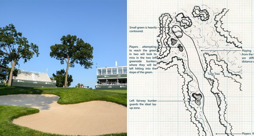 Tournament Hole of the Week: The Barclays