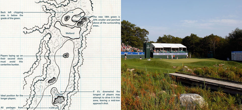 Tournament Hole of the Week: Deutsche Bank Championship