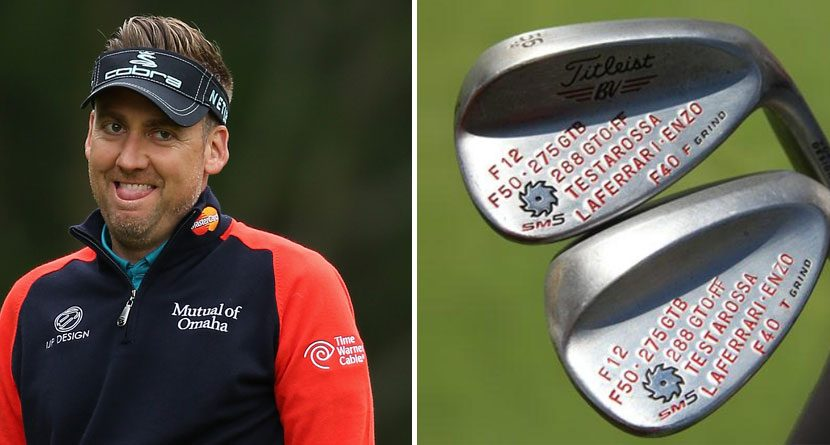 Ian Poulter Adds Some Serious Horsepower to His Wedges