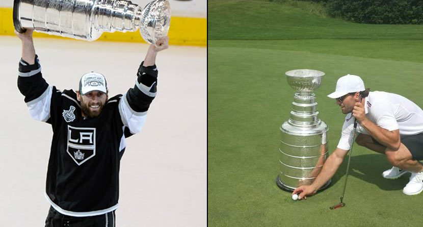 Jarret Stoll Has World's Greatest Ball Marker: Stanley Cup