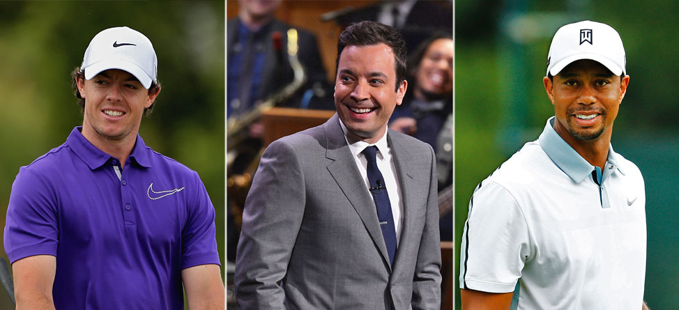 Rory McIlroy, Tiger Woods to Appear on 'The Tonight Show'