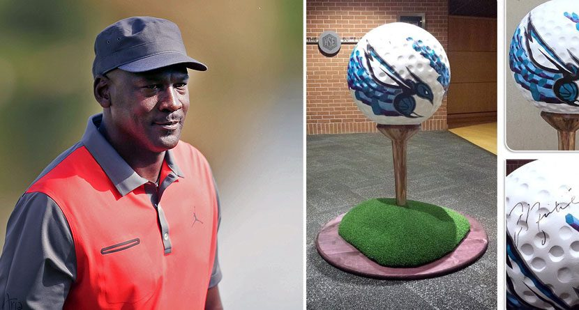 Huge Autographed Michael Jordan Golf Ball Could Be Yours