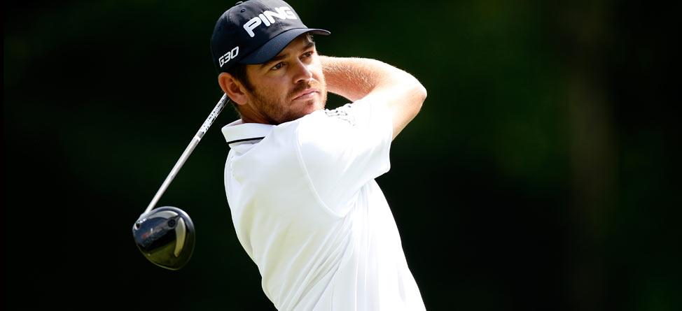 Louis Oosthuizen Wins PGA Championship Long-Drive Contest