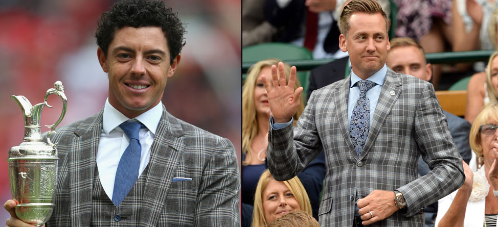 Did McIlroy Raid Poulter's Closet For Manchester Appearance?
