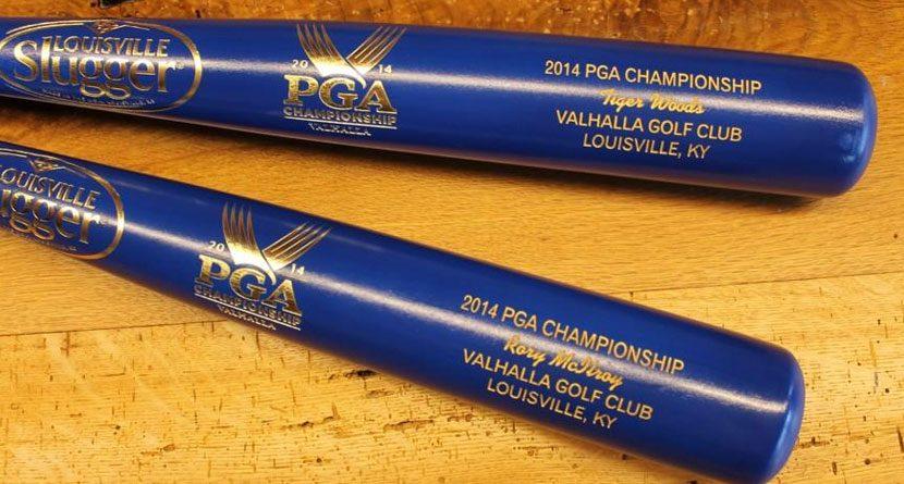 Tiger Woods, Rory McIlroy Get Custom Louisville Sluggers
