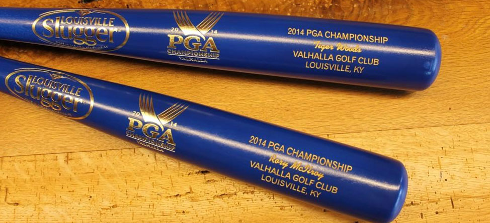 Tiger Woods, Rory McIlroy Get Custom Louisville Sluggers
