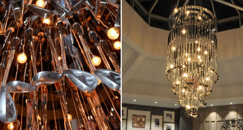 This Golf Club Chandelier Belongs In Your House