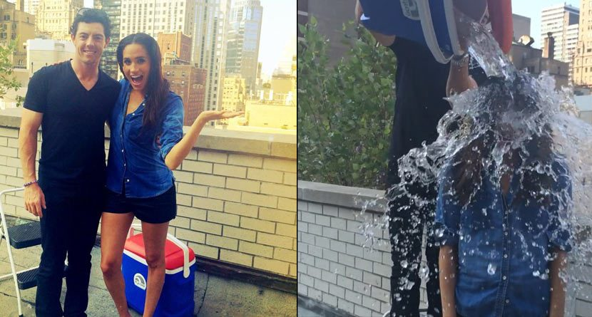 Meghan Markle Accepts Rory McIlroy's Ice Bucket Challenge