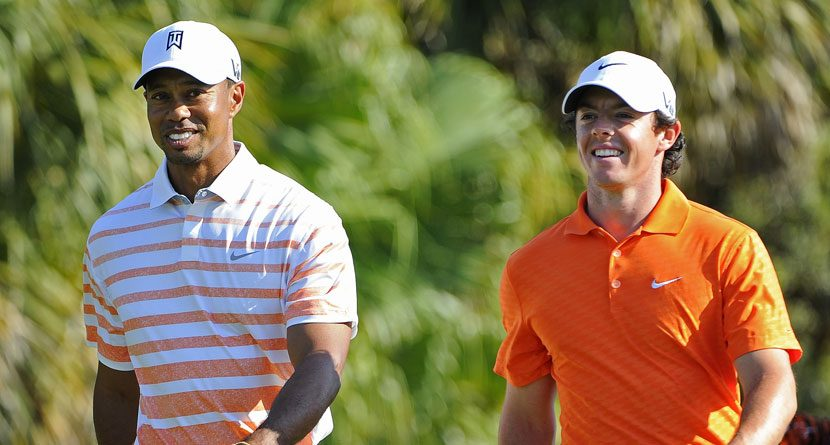 Tiger Woods, Rory McIlroy Accept Ice Bucket Challenge