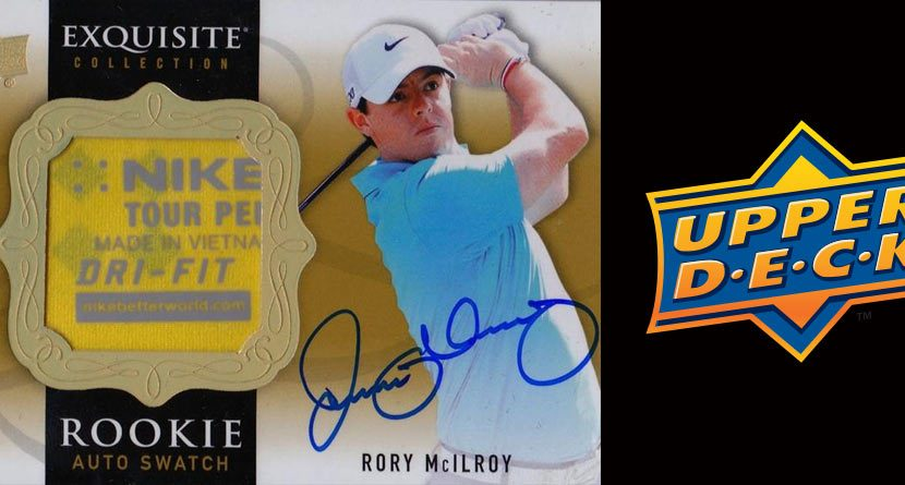 UpperDeck Releases 'Exquisite' Golf Card Collection