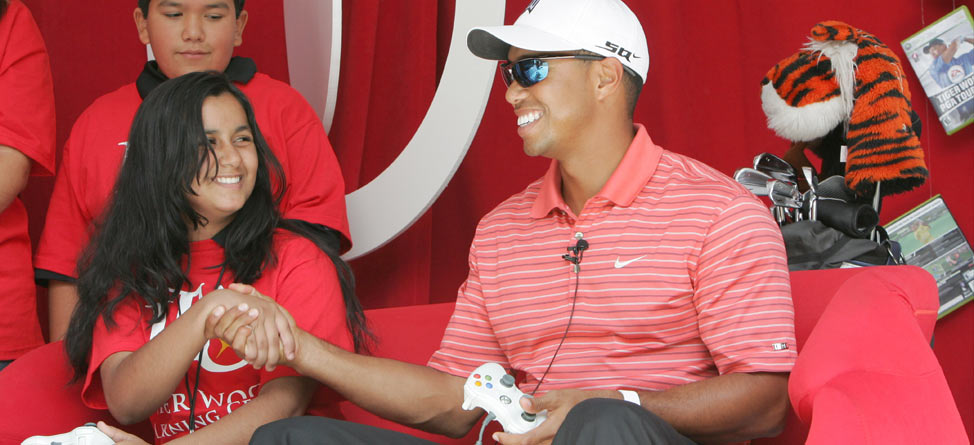 Tiger Woods, Zynga Partner For New Mobile Platform Golf Game