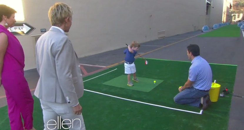 3-Year-Old Tommy Morrissey Is Must-See TV On 'The Ellen Show'