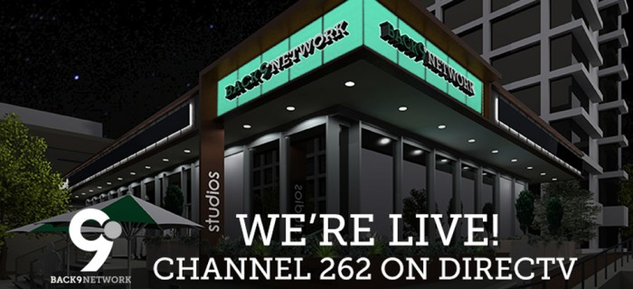 We're LIVE! Back9Network Has Launched On DIRECTV, Channel 262