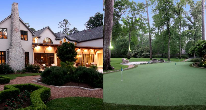 Jeff Bagwell's $12M Mansion Comes With Incredible Putting Green
