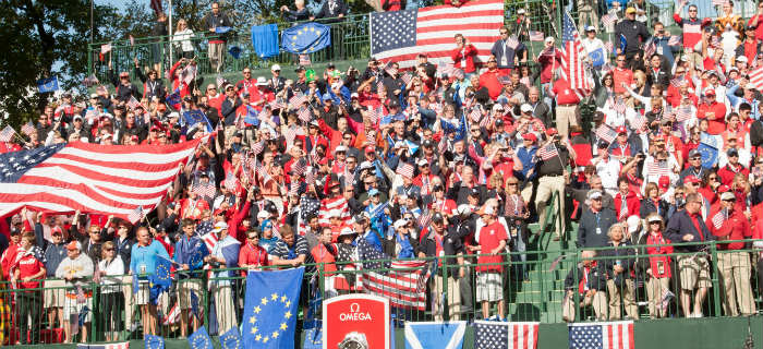 Best Ryder Cup Crowd Moments