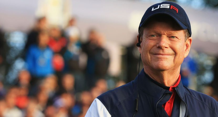 Tom Watson Takes Blame For U.S. Ryder Cup Loss
