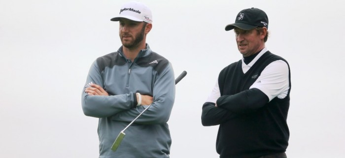 Dustin Johnson Tells Wayne Gretzky He'll Be 'More Responsible Person'