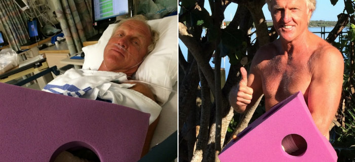 Greg Norman Chainsaw Accident