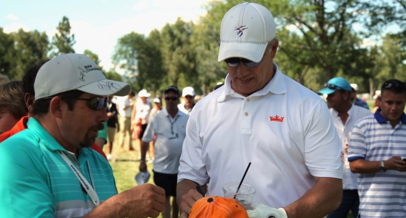John Elway As Popular As The PGA Tour Pros At BMW Championship