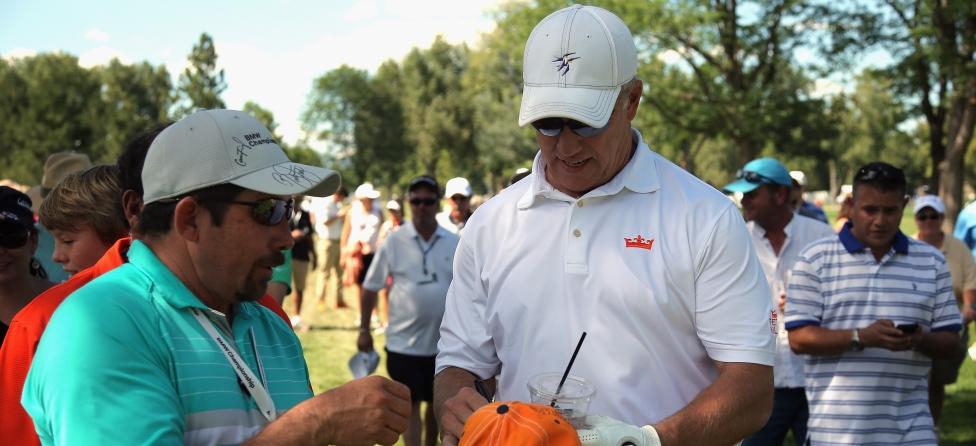 John Elway As Popular As The PGA Tour Pros At BMW Championship