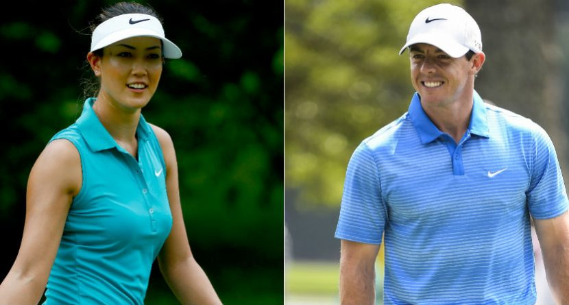 Michelle Wie Gives Rory McIlroy Just A Little Cover Love