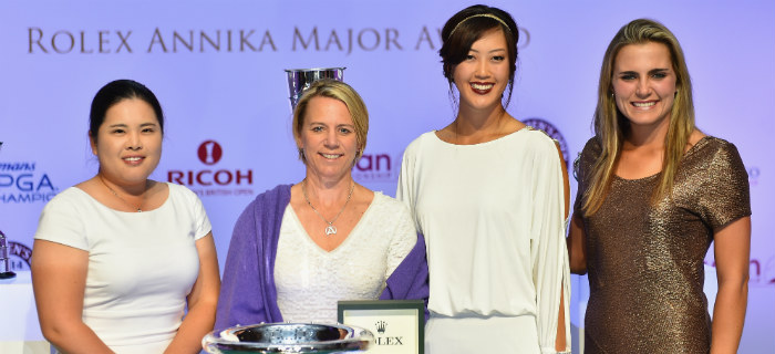 Michelle Wie Wins Inaugural Rolex Annika Major Award
