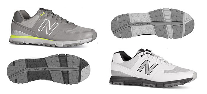 new balance 574 spikeless golf shoes