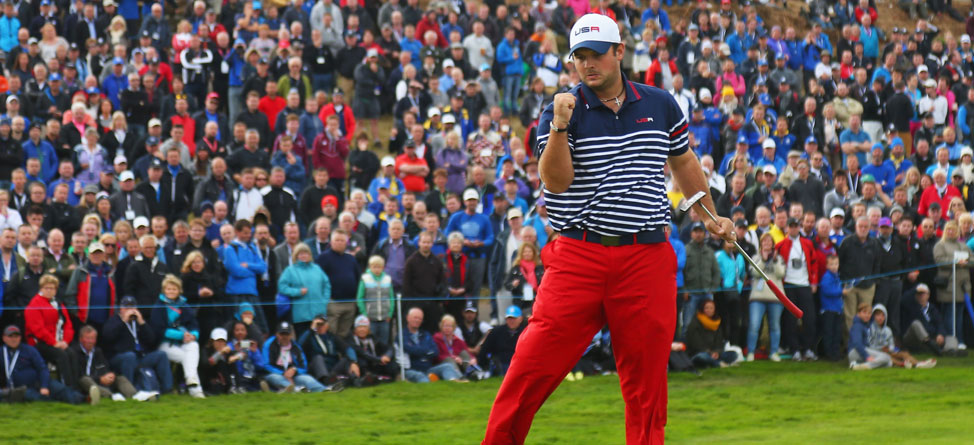 Patrick Reed 'Shushes' Fans After Being Heckled