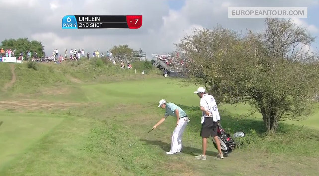 Peter Uihlein Frog Attack