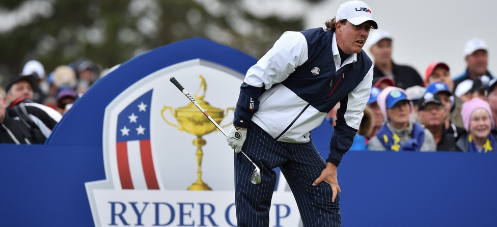 Ryder Cup Notebook: Mickelson's Last Stand? High Heels On The Course?