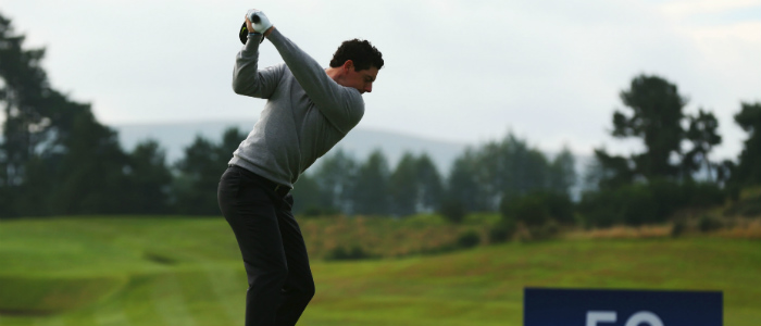 Rory McIlroy Vapor Driver Ryder Cup