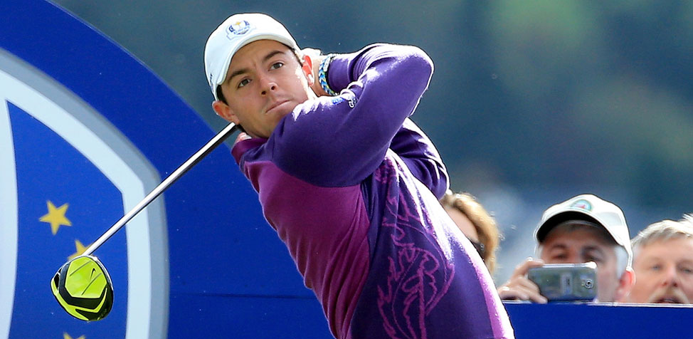 Rory McIlroy Playing New Nike Vapor Driver at Ryder Cup
