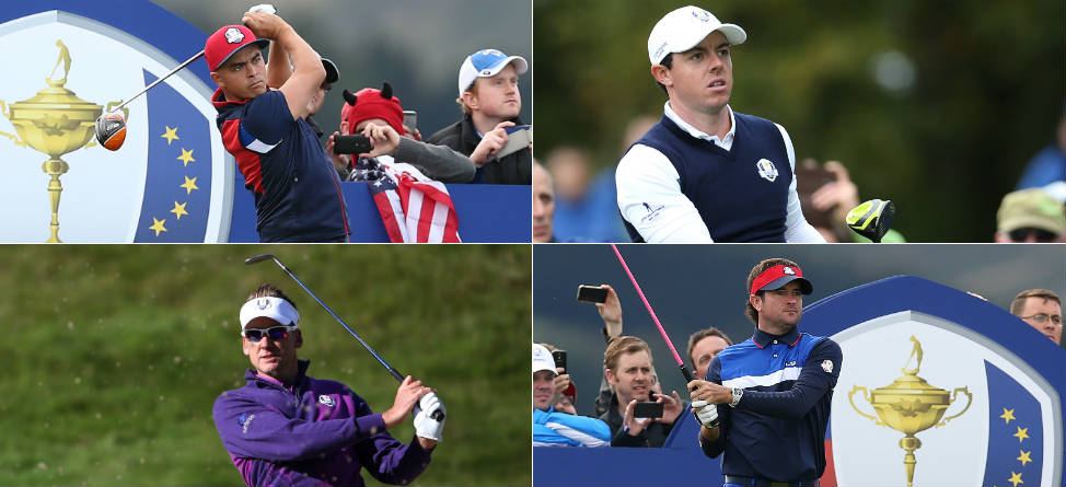 The Ryder Cup is a match play event with each match worth one point The competition format was as follows Day 1 Friday 4 fourball better ball matches in