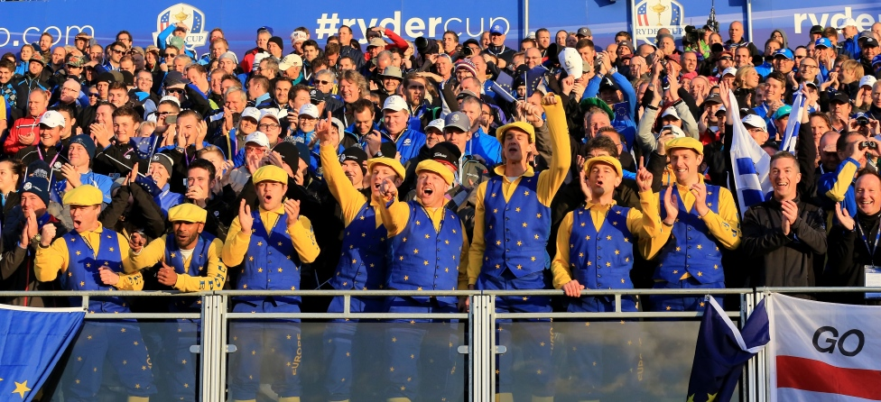 Ryder Cup Atmosphere At Gleneagles Is Deafening