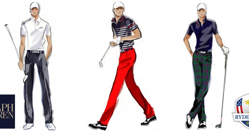 Ralph Lauren Unveils U.S. Ryder Cup Team Uniforms